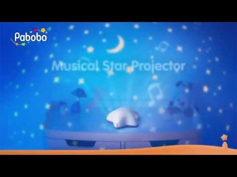 Pabobo Musical Star Projector