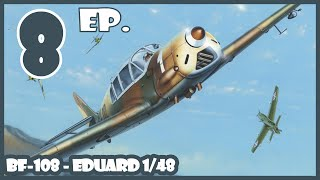 1/48 Messerschmitt Bf-108 Taifun - ادوارد - مقياس نموذج بناء سجل يوم 8