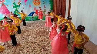 """Рауан 2016 Танец """"Кадриль"""" д/с №35"""