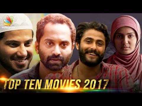 Top 10 Mlayalam Movies 2017 | Dulquer Salman , Fahad Fazil, Parvathy