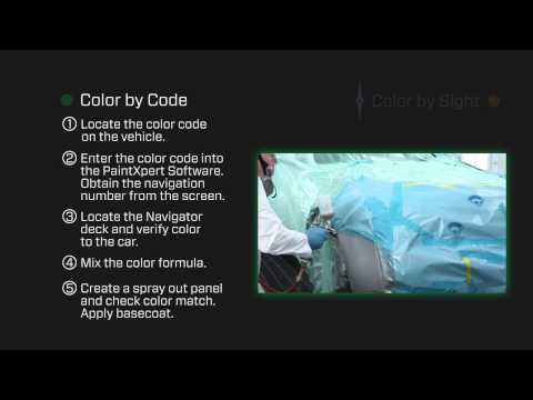 Perfecting Automotive Color Match – Pro-Spray Navigator Precision Color Tool