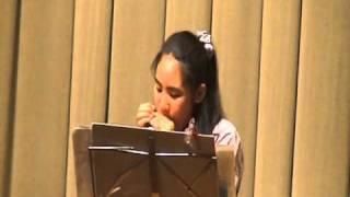 2011年3月 Ayano☆ (小学6年/12-Year-old)ブルースハープ h...
