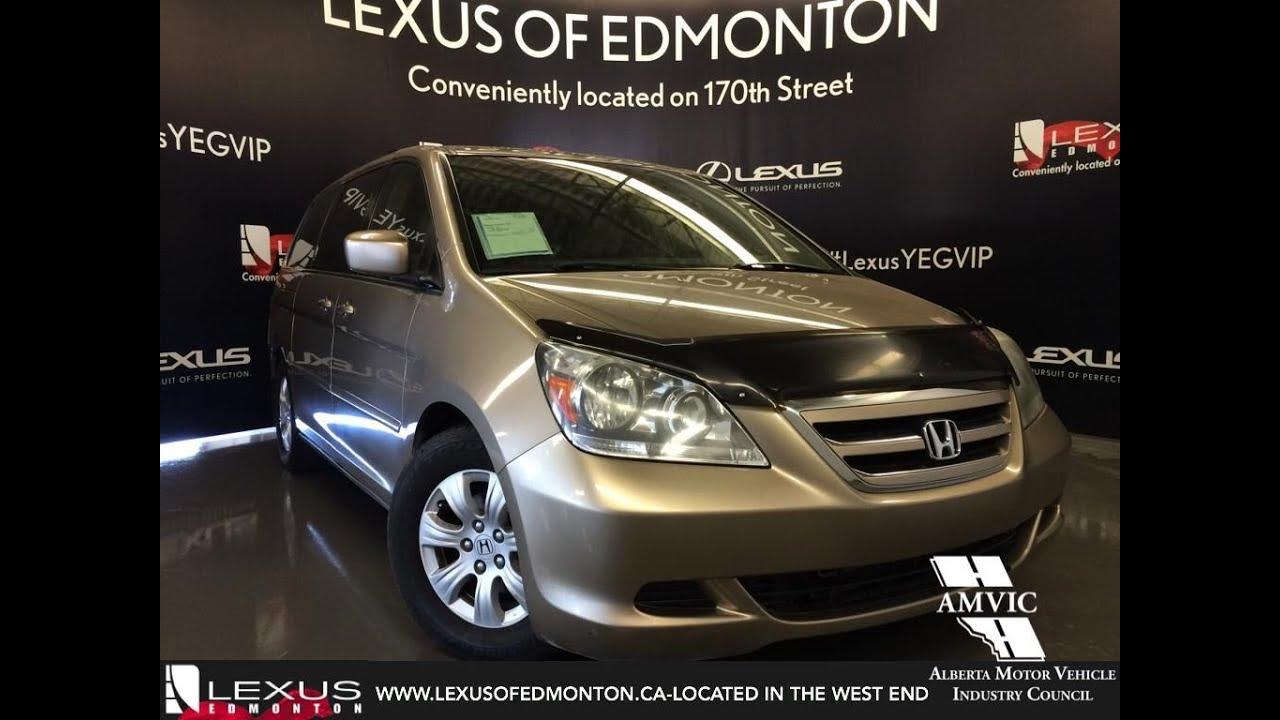 Used 2005 Tan Honda Odyssey EX Walkaround Review | Fort McMurray Alberta