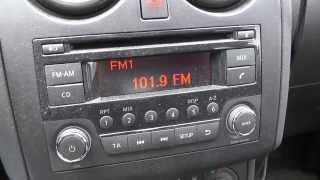 отзывы о Nissan Qashqai прием радио