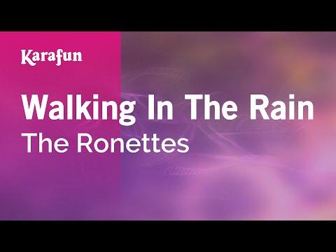 Karaoke Walking In The Rain - The Ronettes *