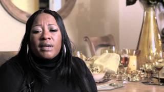 Domestic violence survivor Debra Jackson Thompson speaks about experiences with Domestic violence
