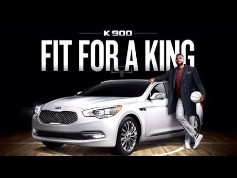 luxury car ads  LEBRON JAMES 2015 KIA K900 LUXURY CAR COMMERCIAL NBA - YouTube