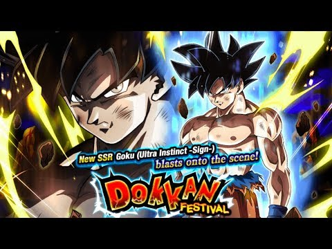 845 STONES! ULTRA INSTINCT GOKU DOKKAN FESTIVAL SUMMONS! GREAT PULLS! [GLOBAL] DBZ Dokkan Battle