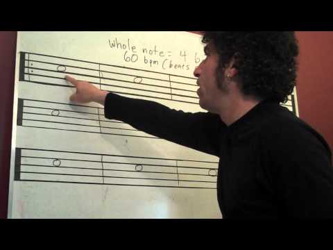 Counting: Whole Notes