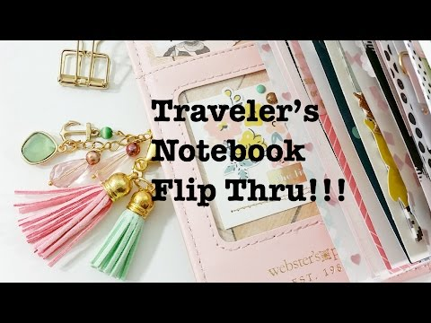 Traveler's Notebook Flip Thru!!!