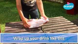 How to cool a drink without ice - Do it yourself DiY