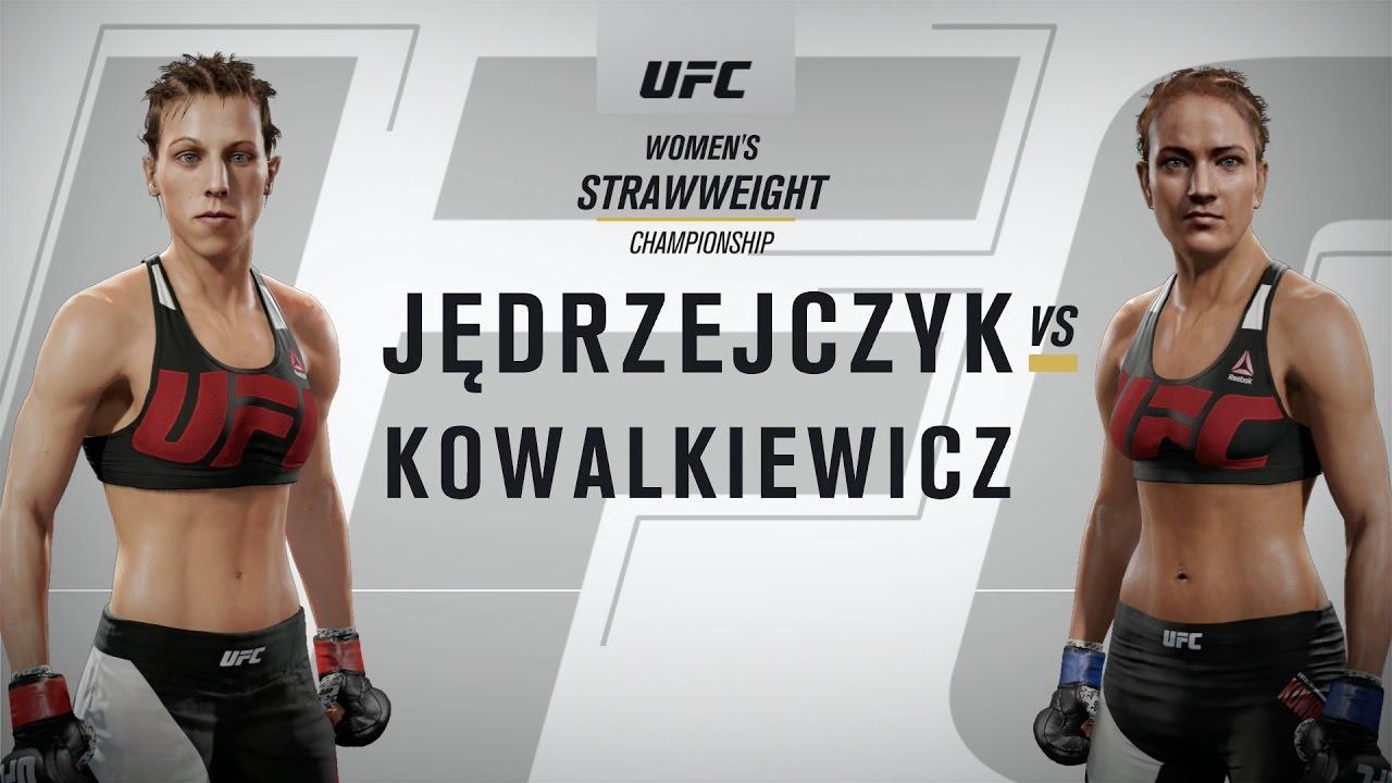 EA Sports UFC 2 - Joanna Jędrzejczyk vs Valérie Létourneau