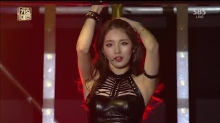 Gambar cover 미쓰에이(miss A) [Hush] @2013 SBS 가요대전 2부
