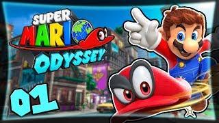 Marios neues Abenteuer #01 ★ Super Mario Odyssey Deutsch