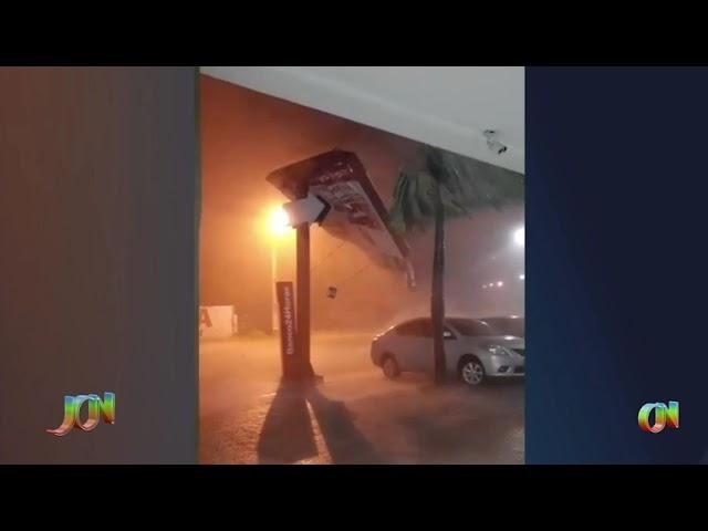 Chuvas e ventos fortes no litoral do Piauí reacendem alerta para estacionamento e abrigo adequado