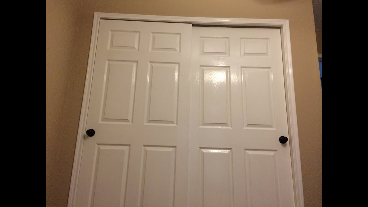 How To Replace Knobs On Closet Doors Before And After Youtube