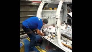 Restauración de una camioneta