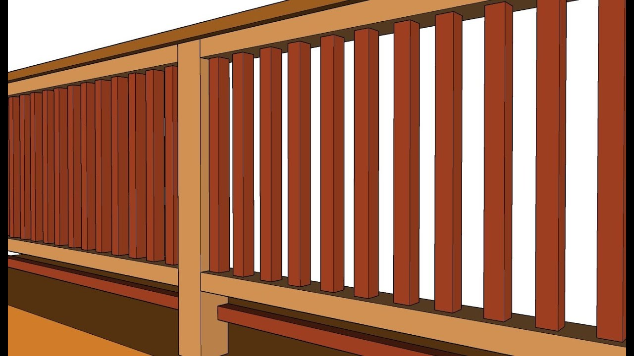 Baby Proofing Wood Deck Guard Railing   Advice For Parents   YouTube