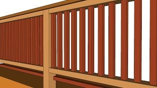 Baby Proofing Wood Deck Guard Railing - Advice For Parents