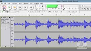 [December2013]How Delete/Remove A Section of Audio In Audacity 2.0.3 on Windows 8