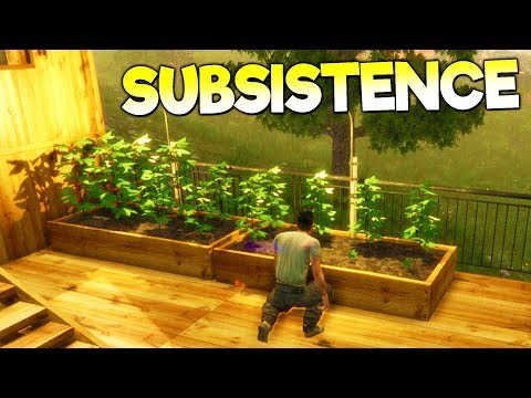 SURVIVOR LOCATES OTHER HUNTERS AND LEARNS TO FARM! - Subsistence Gameplay Early Access Part 3