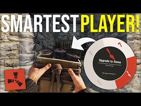 ONLINE SATCHEL RAIDING the SMARTEST SOLO PLAYER in RUST - Rust DUO Survival Gameplay (S4-E7)