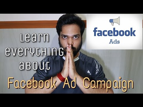 Learn Everything About Facebook Ad Campaign | From The Beginning(Hindi-India)