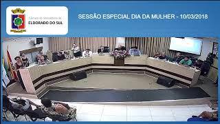 SESSÃO ESPECIAL DIA DA MULHER - 10/03/2020