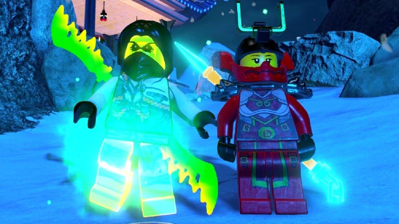 The LEGO Ninjago Movie Videogame - Unclimbable Mountain & Battlefield 100% Guide (All Collectibl