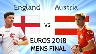 ENGLAND FINISHES STRONG Mens Final @Euros2018!
