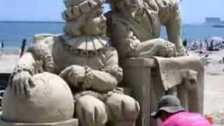 Amazing Sand Sculptures - Winning entries of National Compet