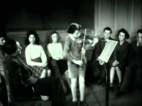 Serge Blanc et son maître Jules Boucherit (1942)