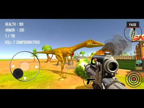 Dinosaur Hunter Dino City 2017 #25 (Level 25 - Compsognathus) - Android/iOS Gameplay