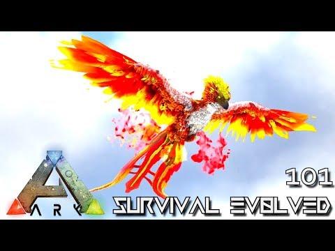ARK: SURVIVAL EVOLVED - PHOENIX TAMING & DRAGON SPARROW FOREWORLD MYTH E101 (MOD EXTINCTION CORE)