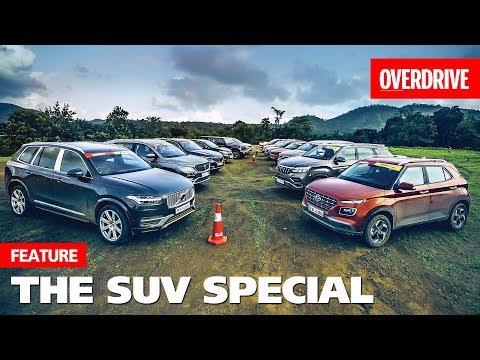 SUV Slugfest 2019   Mega Test   OVERDRIVE