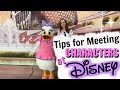 HOW TO MEET DISNEY CHARACTERS! | Tips for Meeting Characters at Disney with Kids!