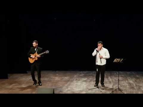 Шикарные композиции в исполнении Шамситдина Мирзоева (Дудук) и Евгения Хачирова (гитара)