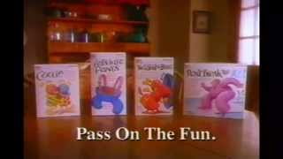 Ants in The Pants, Cootie, Spill the Beans & Break the Ice Commercial (1993)