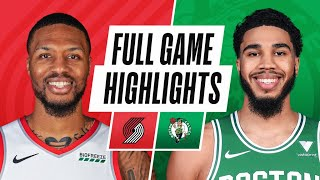 Download TRAIL BLAZERS at CELTICS | FULL GAME HIGHLIGHTS | May 2, 2021