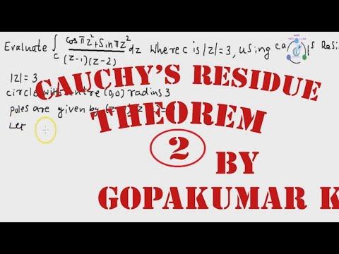Cauchy's Residue Theorem .Part-2 (Engineering Maths-KTU,Kerala ,Anna University)
