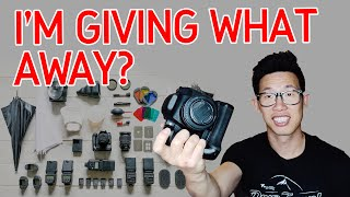 Why I'm Giving Away My Photography Gear! GIVEAWAY 2019! thumbnail