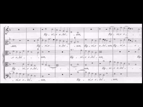 Palestrina - Missa Nigra sum - Kyrie 3