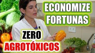 ELIMINE os AGROTÓXICOS das Verduras, Frutas, Raízes e Leguminosas