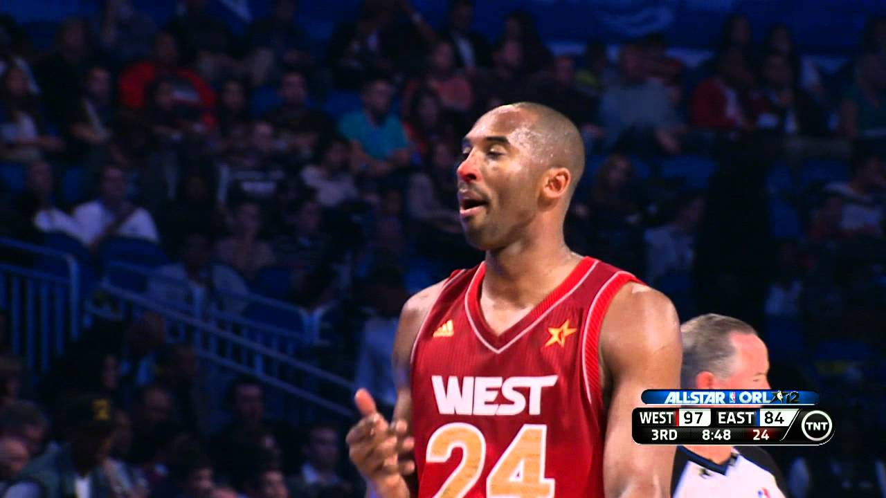 new concept 44cee 325ed 2012 NBA All-Star: Kobe`s Bloody Nose