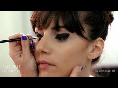 Libertine's Retro Eye Makeup Look Tutorial   New York Fashion Week   Beauty How To