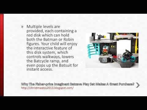 FisherPrice Imaginext Batcave Play Set Review