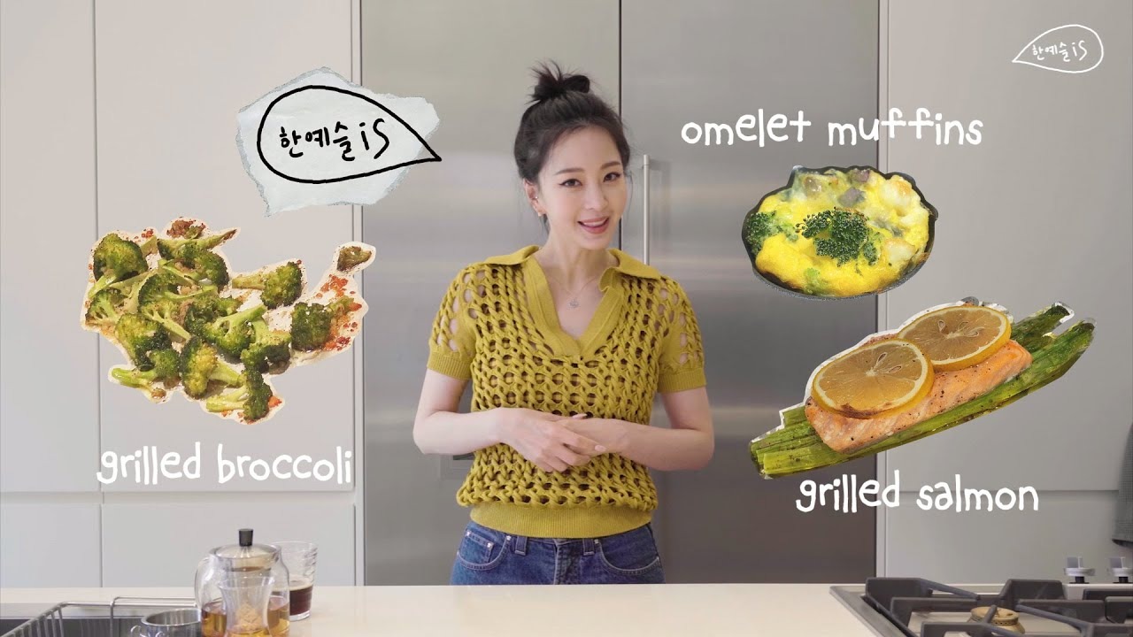 Image result for Han Ye Seul shares her go-to healthy and easy recipes + thanks 2M followers on her Instagram