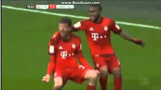 Video Gol Pertandingan FC Bayern Munchen vs Darmstadt 98