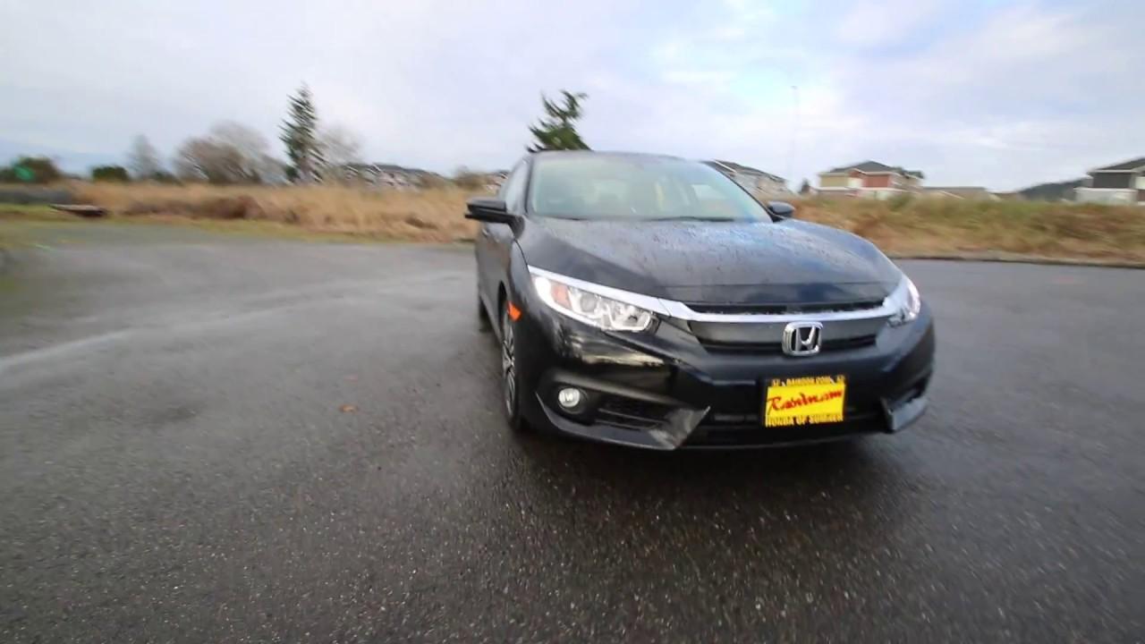 2017 Honda Civic EX T   Crystal Black   HE202678   Seattle   Sumner  