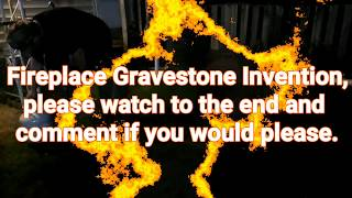Fireplace Gravestone Invention!